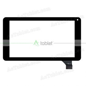 RY017B Digitizer Glass Touch Screen Replacement for 7 Inch MID Tablet PC