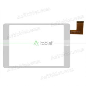 UK078011G(V0.1) Digitizer Glass Touch Screen Replacement for 8 Inch MID Tablet PC