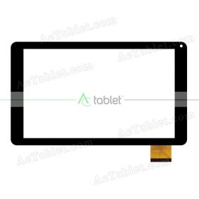 UK090012G-01_FPC V0.1 Digitizer Glass Touch Screen Replacement for 9 Inch MID Tablet PC