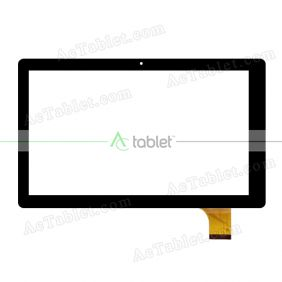 FPC-UP101324A1-V00 FHX Digitizer Glass Touch Screen Replacement for 10 Inch MID Tablet PC