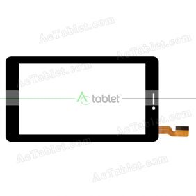 WJ509FPC-1V0 Digitizer Glass Touch Screen Replacement for 7 Inch MID Tablet PC