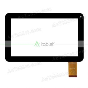 WJ518-V1.0 Digitizer Glass Touch Screen Replacement for 9 Inch MID Tablet PC