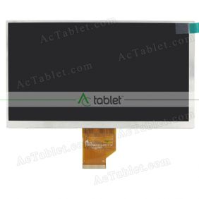 FY07021DI26A170-2-FPC1-C LCD Display Screen Replacement for 7 Inch Tablet PC