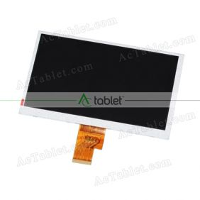 AT070TNA2 V.1 LCD Display Screen Replacement for 7 Inch Tablet PC