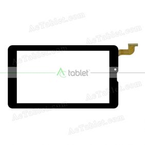 DYJ-GK708A Digitizer Glass Touch Screen Replacement for 7 Inch MID Tablet PC