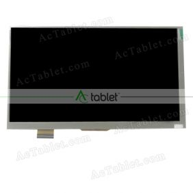 FPC07004-00 LCD Display Screen Replacement for 7 Inch Tablet PC