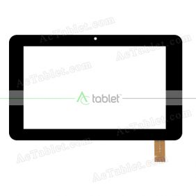 LHJ0219-FPC V2 Digitizer Glass Touch Screen Replacement for 7 Inch MID Tablet PC