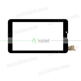 GY70706 FHX Digitizer Glass Touch Screen Replacement for 7 Inch MID Tablet PC