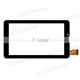 Kingvina-018 Digitizer Glass Touch Screen Replacement for 7 Inch MID Tablet PC