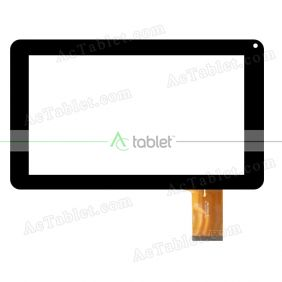 FPC-LZ1001090 V01 Digitizer Glass Touch Screen Replacement for 9 Inch MID Tablet PC