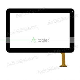 FX-C10.1-0114A-F-01 Digitizer Glass Touch Screen Replacement for 10.1 Inch MID Tablet PC