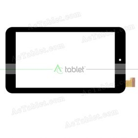 MJK-0267 Digitizer Glass Touch Screen Replacement for 7 Inch MID Tablet PC