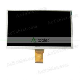 LCD Display Screen Replacement for GETEK 9 Inch MID Tablet PC