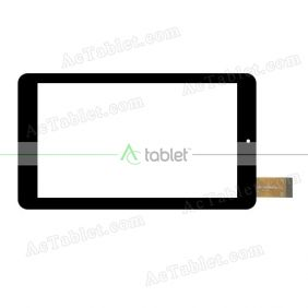 HSCTP-728(M7108)-7.0 Digitizer Glass Touch Screen Replacement for 7 Inch MID Tablet PC