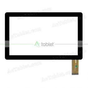 P031FN10934B-B0 Digitizer Glass Touch Screen Replacement for 7 Inch MID Tablet PC