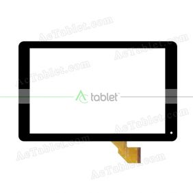 VTCP101A47-FPC-1.0 Digitizer Glass Touch Screen Replacement for 10.1 Inch MID Tablet PC