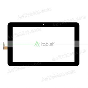 VTCP101A48-FPC-1.0 Digitizer Glass Touch Screen Replacement for 10.1 Inch MID Tablet PC