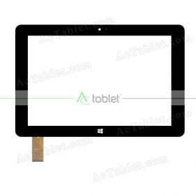 VTCP101A51-2.0 Digitizer Glass Touch Screen Replacement for 10.1 Inch MID Tablet PC