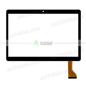 HN 0933-FPC D26XR14 FHX Digitizer Glass Touch Screen Replacement for 9.6 Inch MID Tablet PC