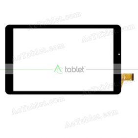 YJ313FPC-V1 Digitizer Glass Touch Screen Replacement for 10.1 Inch MID Tablet PC