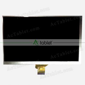 MF0701683003A LCD Display Screen Replacement for 7 Inch Tablet PC