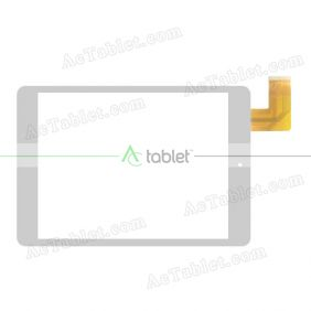 FPC-CY785072-01 Digitizer Glass Touch Screen Replacement for 7.85 Inch MID Tablet PC