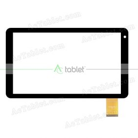 YLD-CEGA529-FPC-A HXS Digitizer Glass Touch Screen Replacement for 10.1 Inch MID Tablet PC