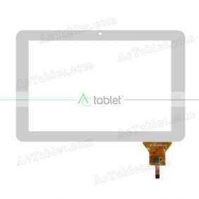YTG-10005-F5 V1.0 Digitizer Glass Touch Screen Replacement for 10.1 Inch MID Tablet PC
