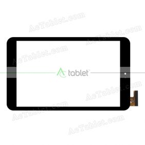 PB80JG2029 Digitizer Glass Touch Screen Replacement for 8 Inch MID Tablet PC