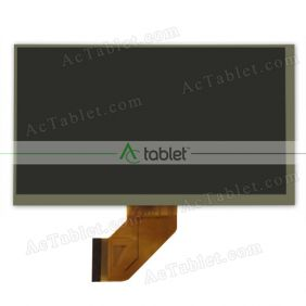 WCD-L50C007 LCD Display Screen Replacement for 7 Inch Tablet PC