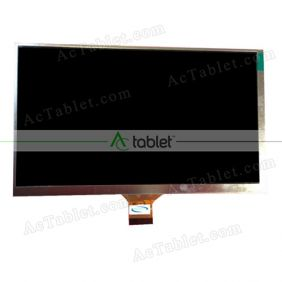 MFPC070185 LCD Display Screen Replacement for 7 Inch Tablet PC