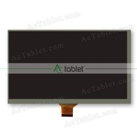 FPC70030-M1P1 LCD Display Screen Replacement for 7 Inch Tablet PC