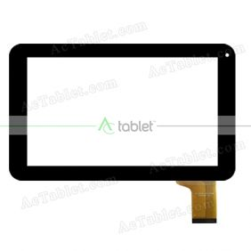 QLT9005 Digitizer Glass Touch Screen Replacement for 9 Inch MID Tablet PC