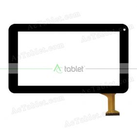 RP-294A-9.0-FPC-A4 SLR Digitizer Touch Screen Replacement for 9 Inch MID Tablet PC
