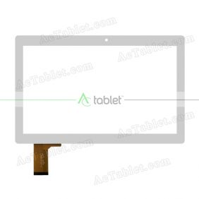 DH-1036A3-GG-FPC146 Digitizer Glass Touch Screen Replacement for 10.6 Inch MID Tablet PC