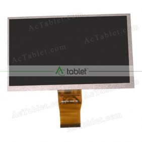 KM CPT 7D 50PIN RXD LCD Display Screen Replacement for 7 Inch Tablet PC