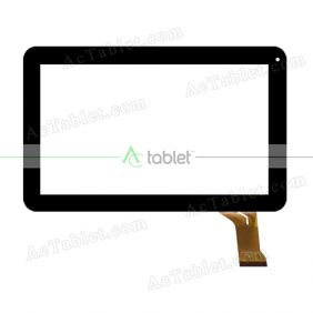 CZY6661B01-FPC Digitizer Glass Touch Screen Replacement for 10.1 Inch MID Tablet PC