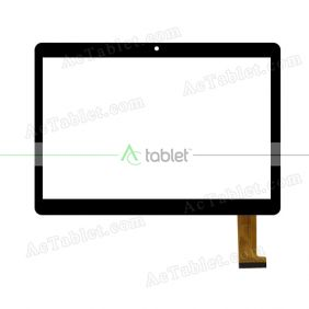 DH-1069A4-PG-FPC264-V1.0 Digitizer Glass Touch Screen Replacement for 9.6 Inch MID Tablet PC
