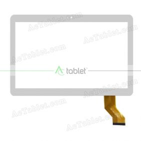 WY-CTP0001 Digitizer Glass Touch Screen Replacement for 10.1 Inch MID Tablet PC