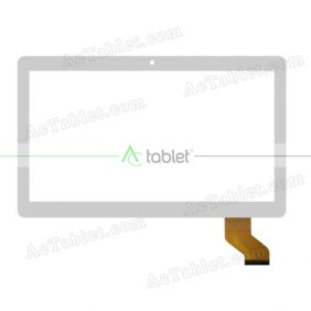 ZYD10.6-02V02 FLT Digitizer Glass Touch Screen Replacement for 10.6 Inch MID Tablet PC