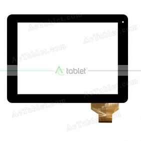 300-L3312A-B00-V1.1 Digitizer Glass Touch Screen Replacement for 9.7 Inch MID Tablet PC