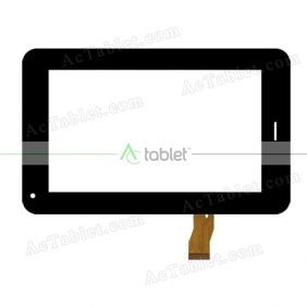 CTD FM705802KA Digitizer Glass Touch Screen Replacement for 7 Inch MID Tablet PC