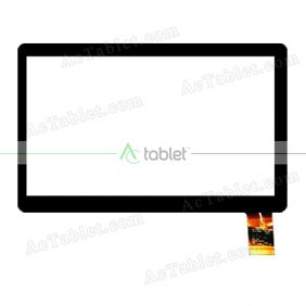 C166104A1-FPC773DR Digitizer Glass Touch Screen Replacement for 7 Inch MID Tablet PC