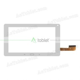 XC-PG0900-023-A0-FPC Digitizer Glass Touch Screen Replacement for 9 Inch MID Tablet PC