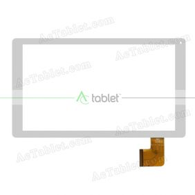 701-10081-02 Digitizer Glass Touch Screen Replacement for 10.1 Inch MID Tablet PC