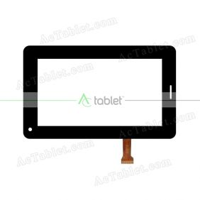 SX70-0718-2 FPC Digitizer Glass Touch Screen Replacement for 7 Inch MID Tablet PC