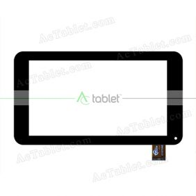 GT70PF8880 Digitizer Glass Touch Screen Replacement for 7 Inch MID Tablet PC