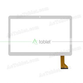 GT095PGKT961 Digitizer Glass Touch Screen Replacement for 9.6 Inch MID Tablet PC