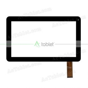 DH-101A1-FPC042 Digitizer Glass Touch Screen Replacement for 10.1 Inch MID Tablet PC