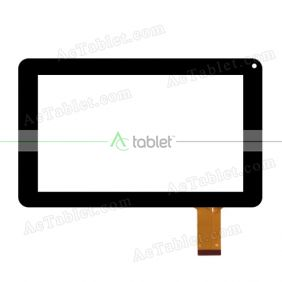 Replacement A06 Digitizer Glass Touch Screen Panel for 9 Inch Tablet PC